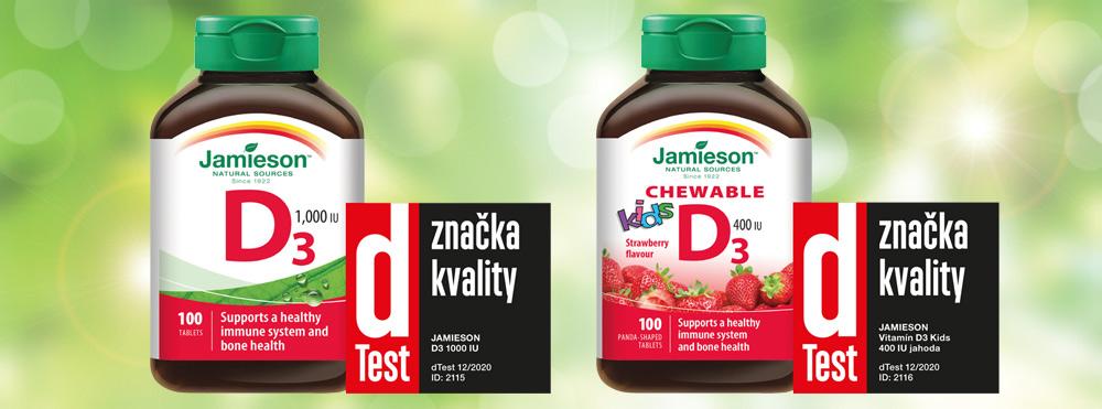 dTest prověřil kvalitu výrobků s vitamínem D na trhu