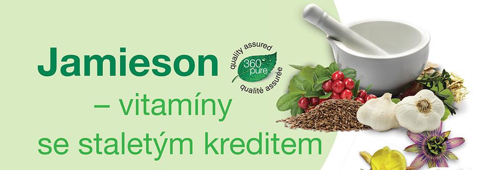 Jamieson – vitamíny se staletým kreditem