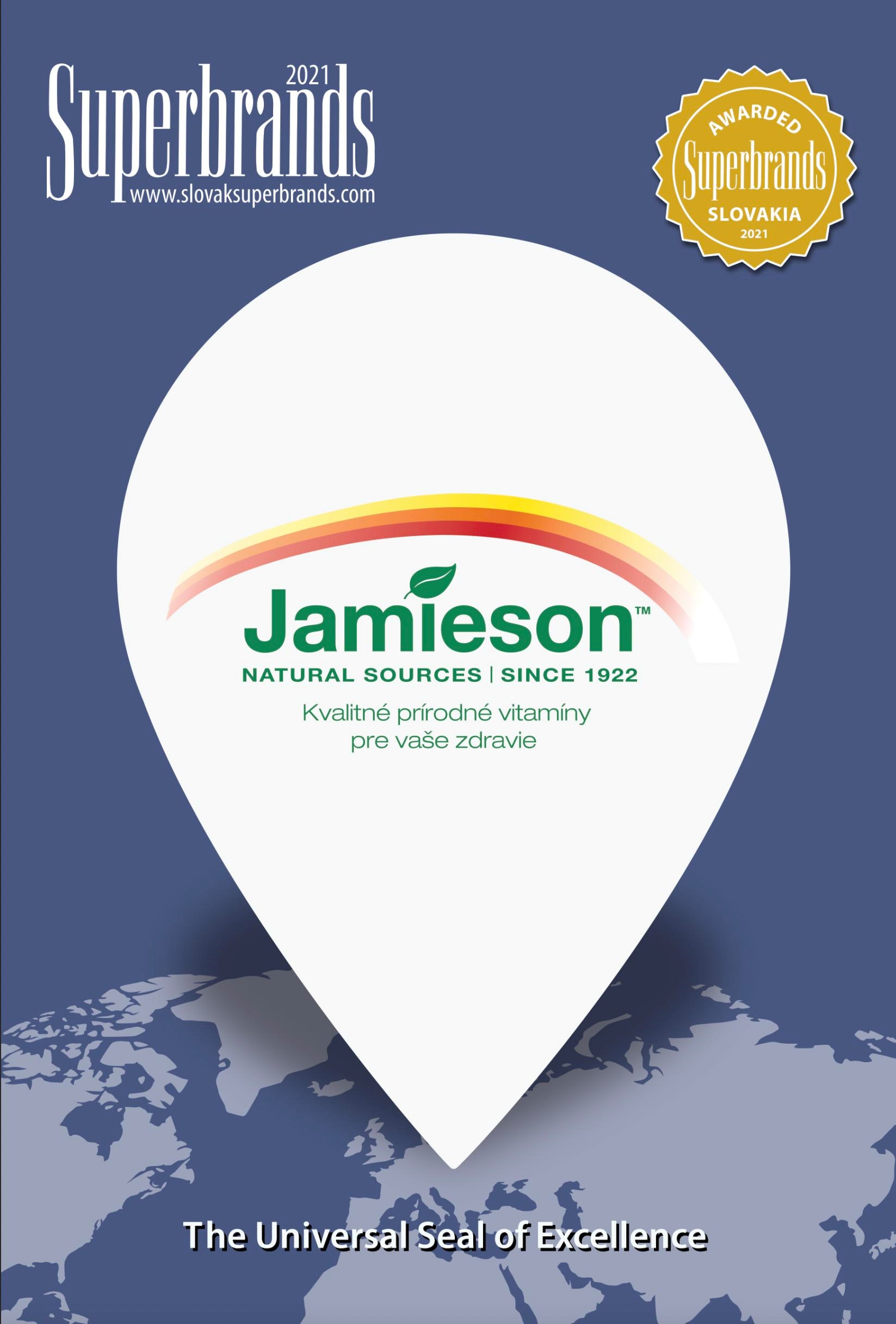 Jamieson Superbrands 2021